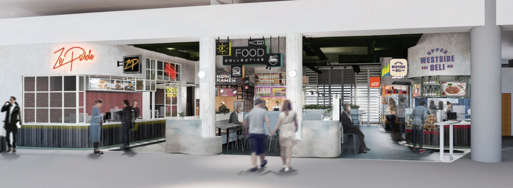 SSP signs seven-year deal to open international food hall at Brisbane Airport