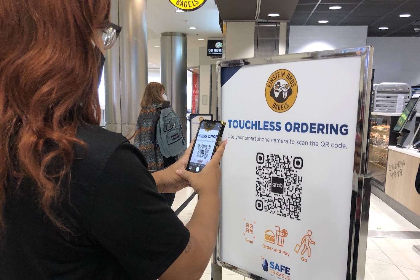 Delaware North and Grab launch some of first virtual kiosks in a U.S. airport