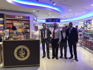 "LINDT brings ""magical moments"" to travellers at new JFK Terminal One store"