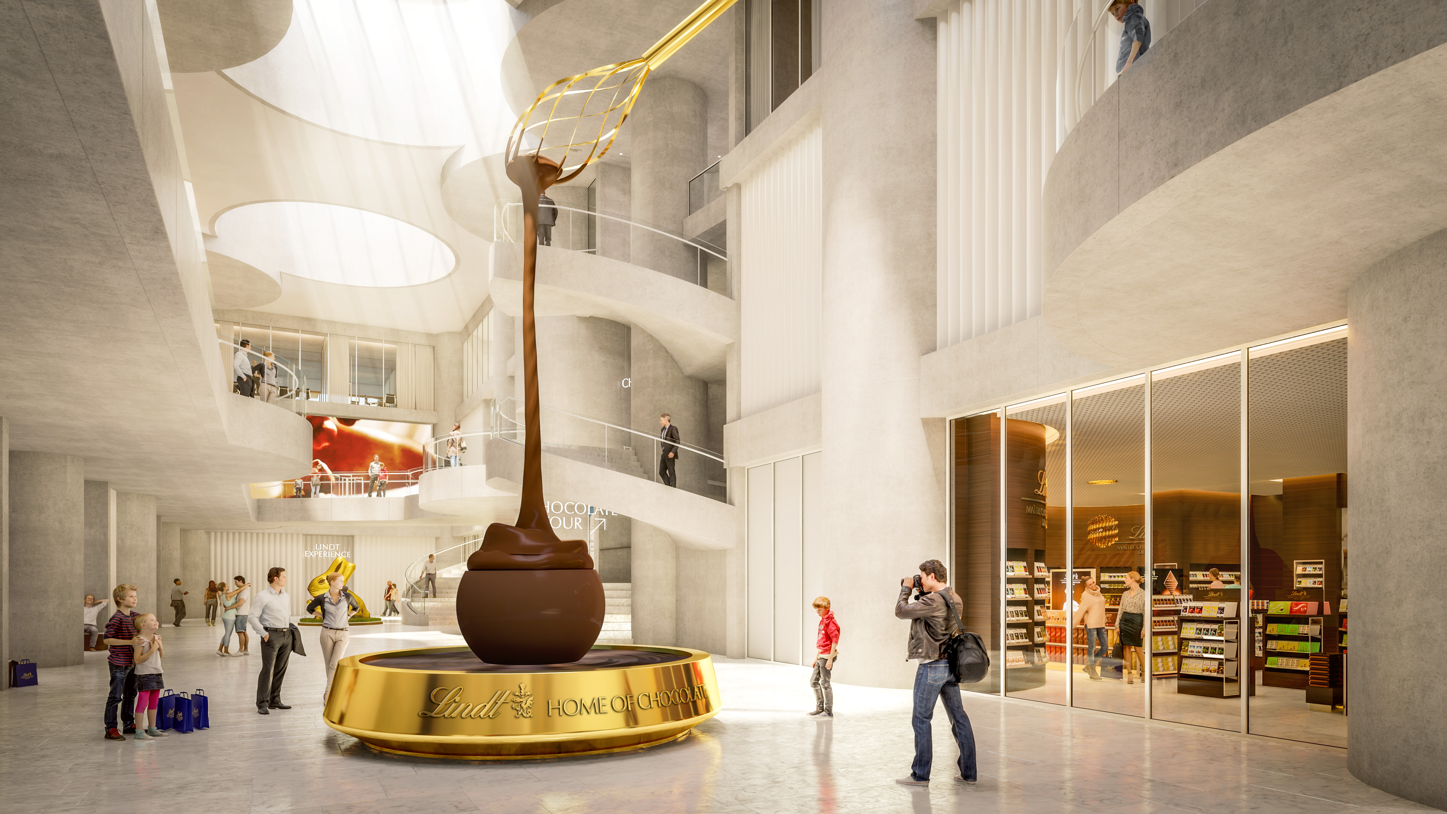 Lindt Home of Chocolate: Opening Date for Unique Chocolate Experience Announced