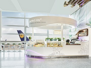 SSP opens coffee shop perfect day micro at Frankfurt Airport