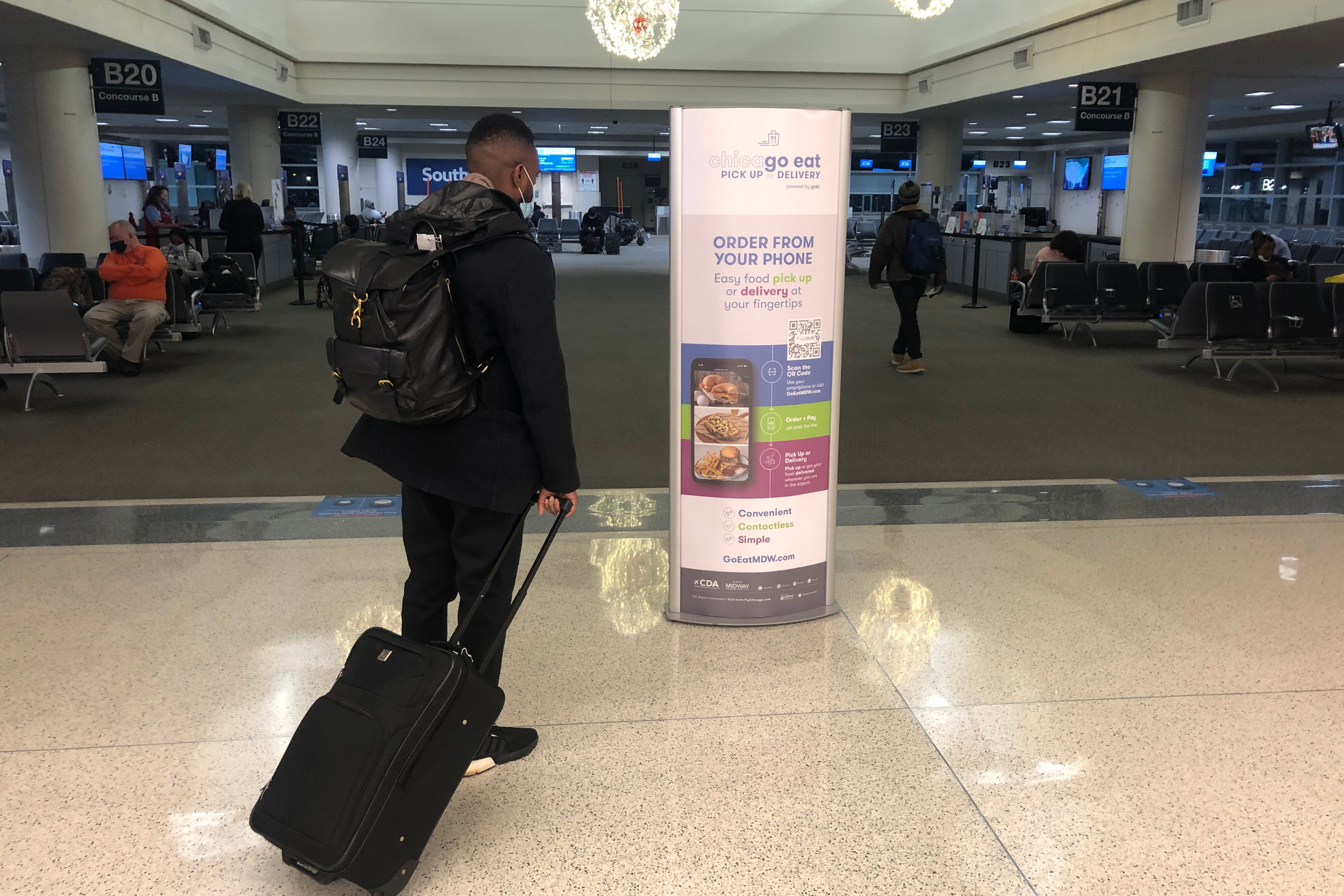 SAVE TIME AND SKIP THE LINE – CONTACTLESS ORDERING FOR PICK UP OR DELIVERY KICKS OFF AT CHICAGO MIDWAY INTERNATIONAL AIRPORT